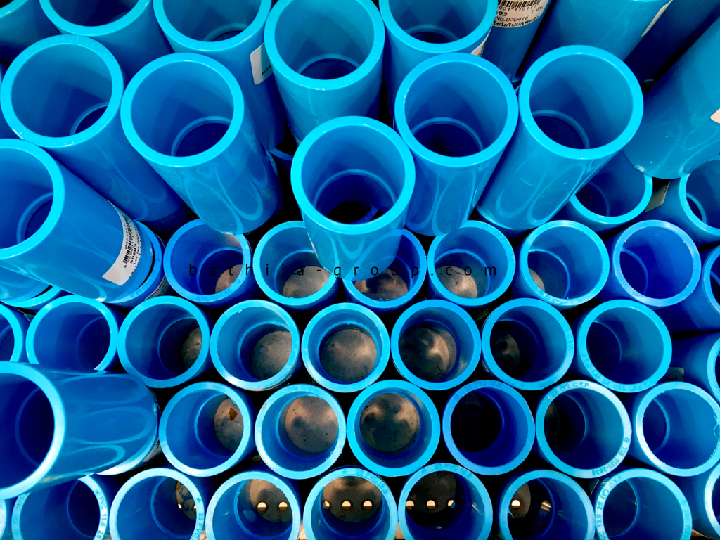 Bathija Group Pvc U Casing And Columns Of Conduits Pipes Electrical Trunkings Plumbing